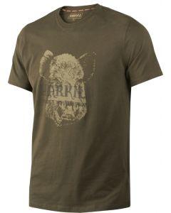 Härkila T-shirt wild boar willow green
