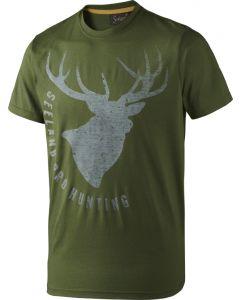 Seeland T-shirt Fading Stag grøn