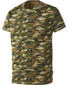 Seeland speckled T-shirt m/ korte ærmer i GP camouflage