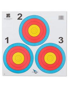World archery Fita 3 x 20 cm Las Vegas