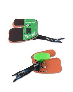 Avalon Basic fingerlab til splitfinger grøn XS