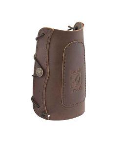 Buck trail traditionel læder armbeskytter 18 cm