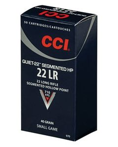 CCI 22Lr Segmentet HP quiet 50 stk 40 grains