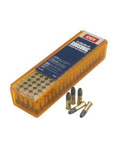 CCI 22 lr sub sonic  40 grain 100 stk pr. pakke