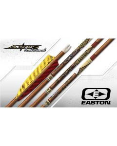 "Pile Easton Axis traditionel 4"" naturfaner uden pilespids"