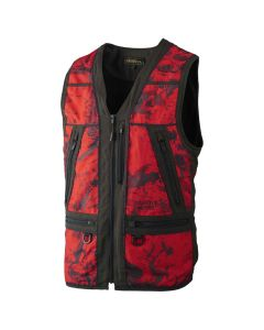 Härkila Lynx Safety vest AXIS MSP® Red Blaze/Shadow Braun