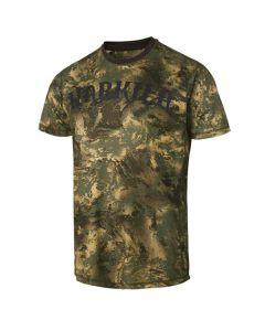 Härkila Lynx t-shirt m/ korte ærmer AXIS MSP® Forest green
