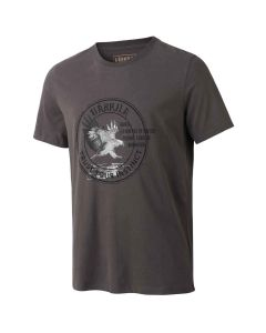 Härkila - Wildlife Eagle kortærmet-shirt Mulch grey
