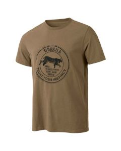 Härkila - Wildlife Lynx kortærmet T-shirt Khaki