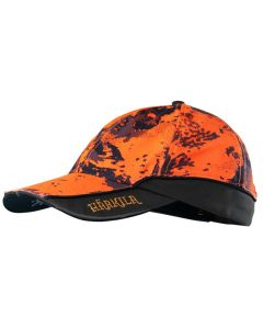 Härkila - Lynx lightcap orangeblaze/shadow brown one size