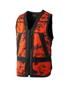 Härkila - Lynx Safety vest Orange/Blaze shadow brown