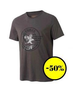 Härkila - Wildlife Eagle kortærmet-shirt Mulch grey
