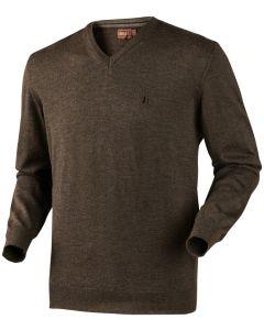 Härkila Jari pullover Shadow brown melange