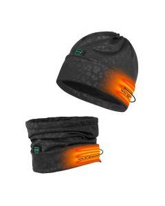 Nordic Heat hue/halsedisse 2i1 med varme