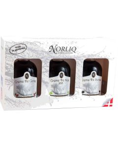 NORLIQ 3-pak gaveæske