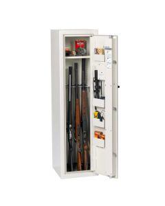 Profsafe Godkendt våbenskab til 4+4 våben HxBxD 150 x 40 x 42,5 cm FRAGTFRIT LEVERET