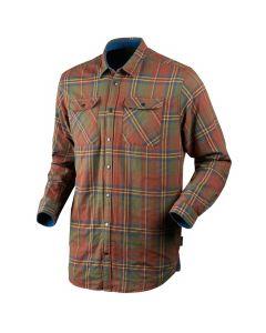 Seeland Nolan skjorte Sequoia rust check