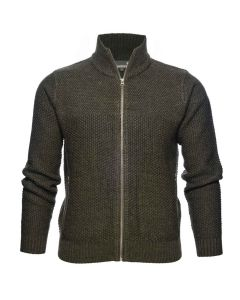 Seeland Dyna cardigan grizzly brown