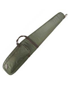 Seeland riffelfoderal m/skum design line grøn 140 cm
