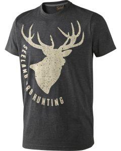 Seeland T-shirt Fading Stag grå