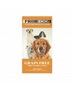 Prof. dog Grain Free 100% kornfrit 12 kg