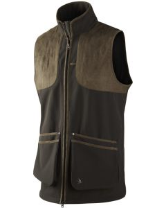 Seeland Winster softshell skydevest black coffee
