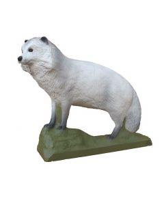 SRT Hvid mårhund 64 x 52 cm