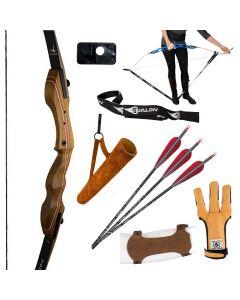 """Touchwood Taipan Take-Down Hunting recurvesæt 60"""""""