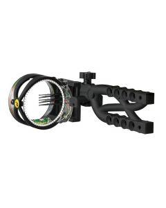 Trophy Ridge Cypher Tool-Less jagtsigte 5 pin .019 sort