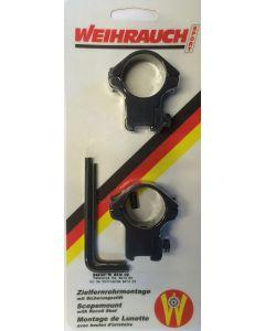 Weihrauch luftgevær montage 25 mm