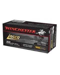 Winchester Laser 22 lr Hollowpoint 37,5 grains 1370 FPS (skal afhentes i butikken)