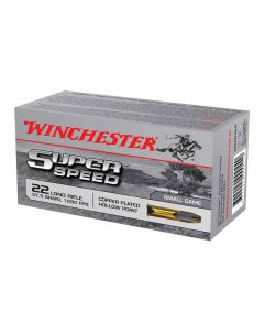 Winchester Super speed 22 lr 40 gr 1265 FPS