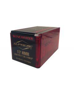 Winchester 17 HMR 17 grains V-Max (skal afhentes i butikken)