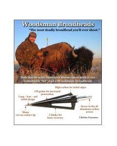 Woodsmann jagtspidse 3 stk