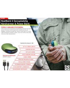 Zippo håndvarmer / powerbank 5200 MAH
